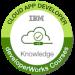 -IBM Cloud Developer Badge-