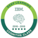 -IBM Watson Deep Learning Badge-
