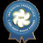 -IBM 1,000,000th Issued Badge-