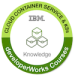 -IBM Kubernetes Badge-