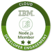 -IBM Node.js - Community Member Badge-