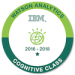 -IBM Watson - Analytics Badge-